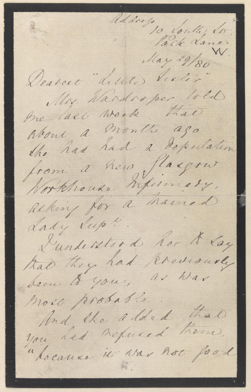 Letter no. 13, 01