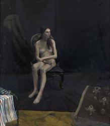 Sitting Nude Female