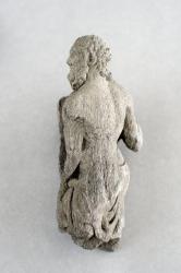 Gandharan sculpture fragments: Torso of an Atlantid