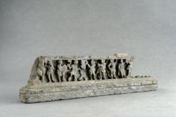 Gandharan sculpture fragments: Dancers and musicians