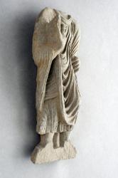 Gandharan sculpture fragments: Standing Buddha