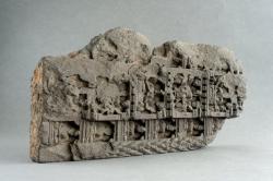 Gandharan sculpture fragments: Scenes fom the life of Buddha