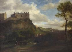 Edinburgh Castle from the south west