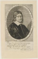 Johannes Borgesius (1618-1652), Dutch Professor of medicine and mathematics at Groningen