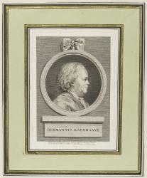 Hermann Boerhaave (1668-1738), Professor of medicine and humanist; rector of Leyden University