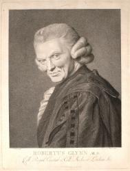 Robert Glynn (1719-1800), MD Cantab., FRCP.