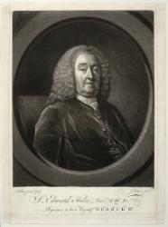 Sir Edward Hulse, Bart. (1682-1759), MD Cantab., FRCP. Physician to George II.