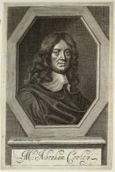 Abraham Cowley (1618-1667), MD Oxon., FRS. Poet