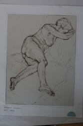 Preparatory sketch for main composition