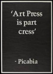 Art Press is part cress