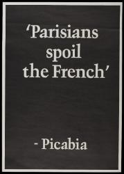 Parisians spoil the French