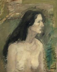 Profile of Female Nude