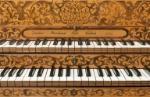 Double-manual harpsichord.  Photo by Digital Imaging Unit © The University of Edinburgh