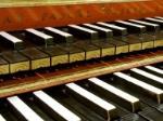 Double-manual harpsichord.  Photo by Raymond Parks © The University of Edinburgh